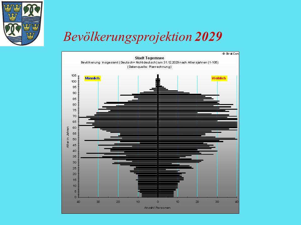 Bevölkerungsprojektion 2029