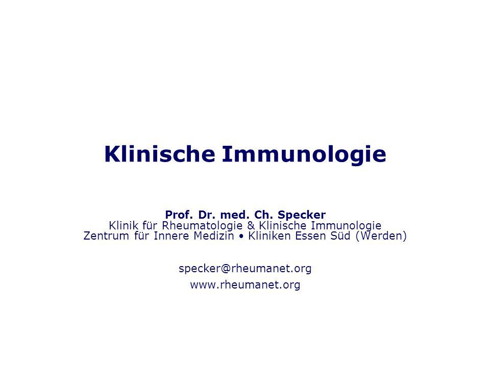 Klinische Immunologie