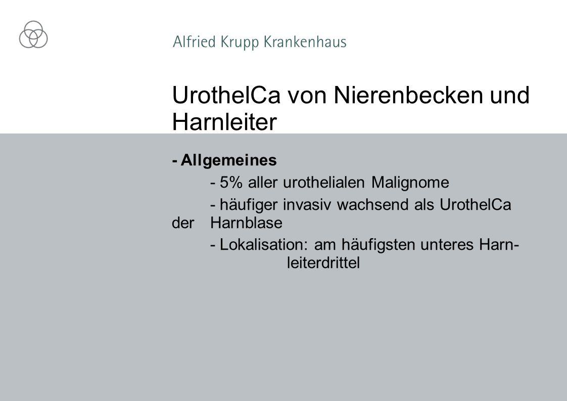 UrothelCa von Nierenbecken und Harnleiter