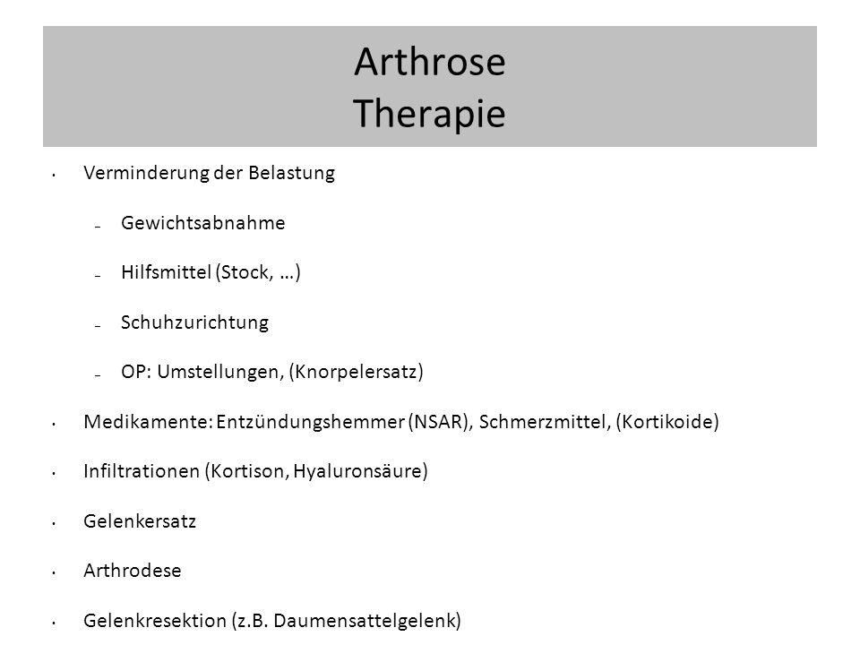 aktivierte arthritis
