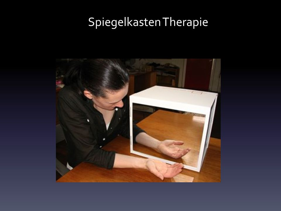 Spiegelkasten Therapie