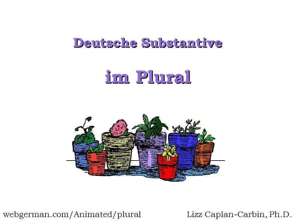 im Plural Deutsche Substantive webgerman.com/Animated/plural