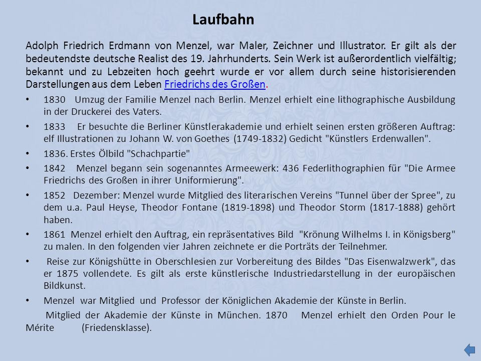 Laufbahn
