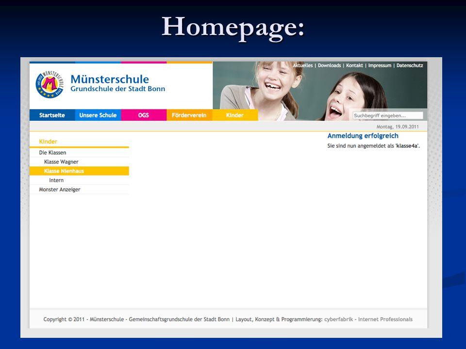Homepage: