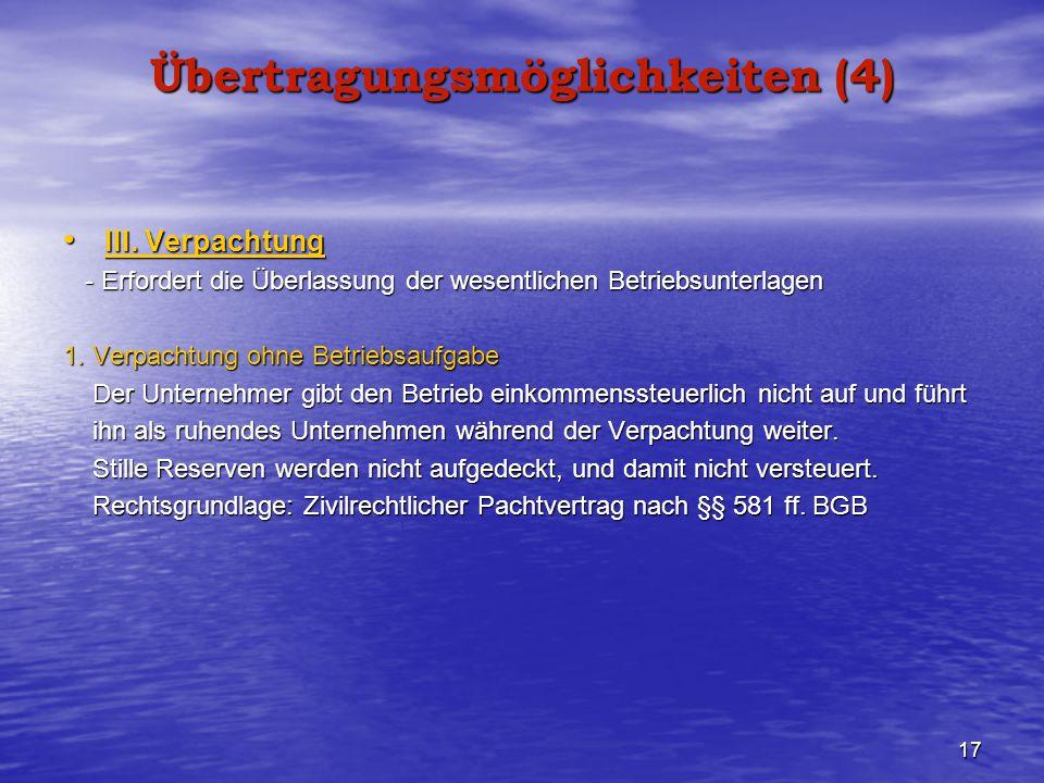 Übertragungsmöglichkeiten (4)