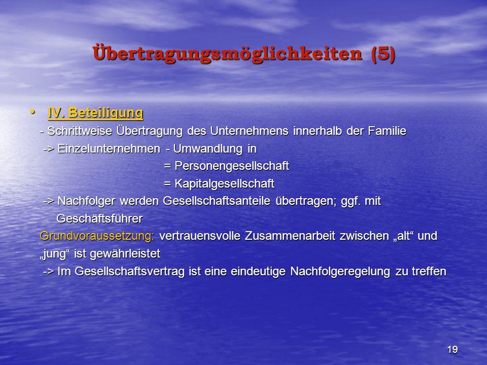 Übertragungsmöglichkeiten (5)