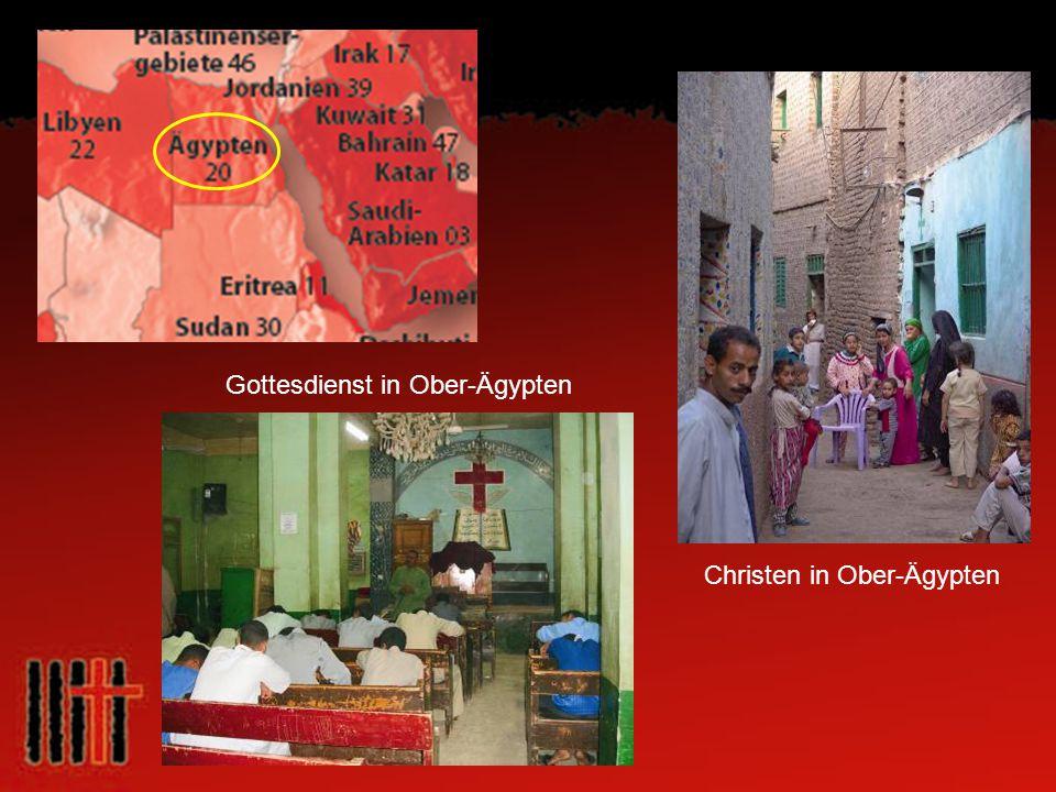 Gottesdienst in Ober-Ägypten