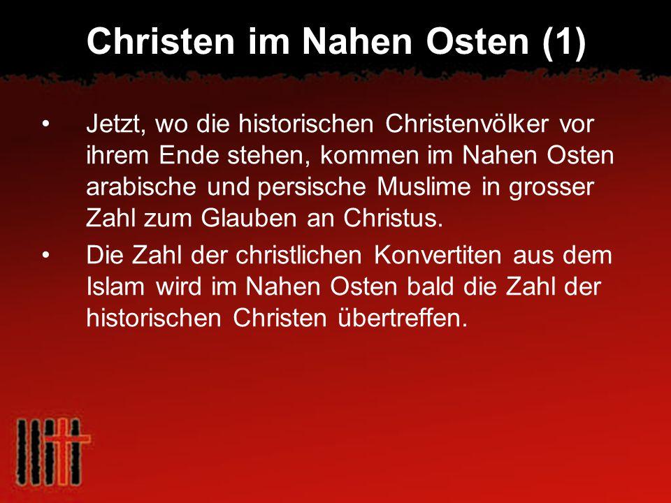 Christen im Nahen Osten (1)