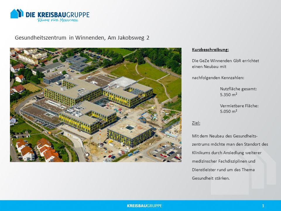 Gesundheitszentrum in Winnenden, Am Jakobsweg 2