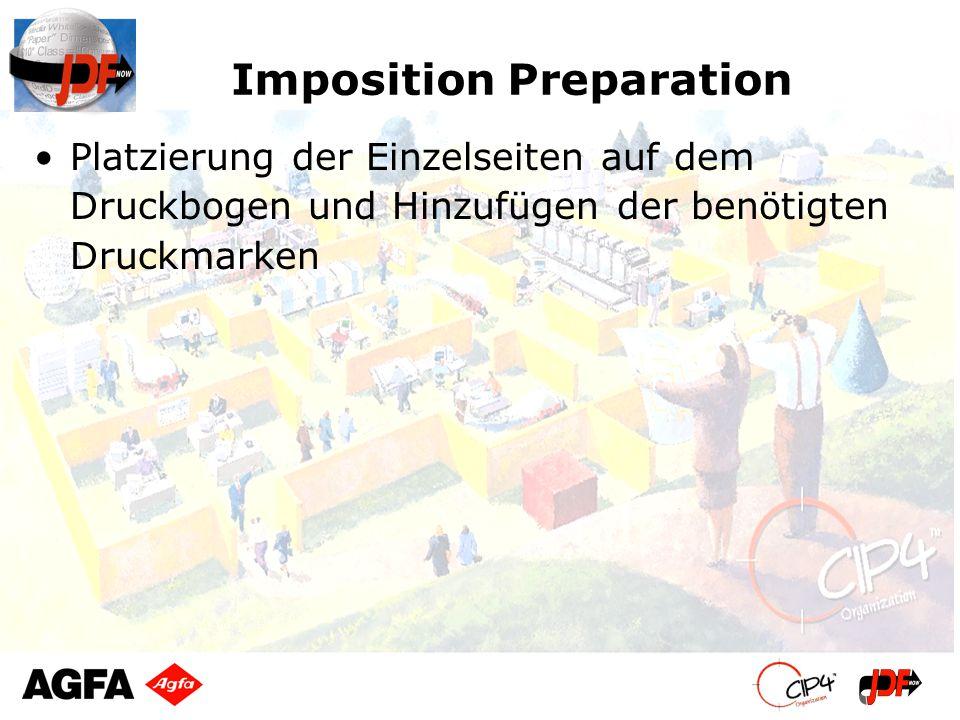 Imposition Preparation