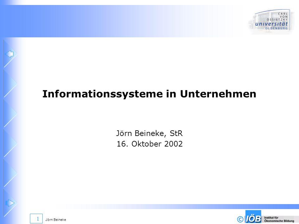Informationssysteme in Unternehmen