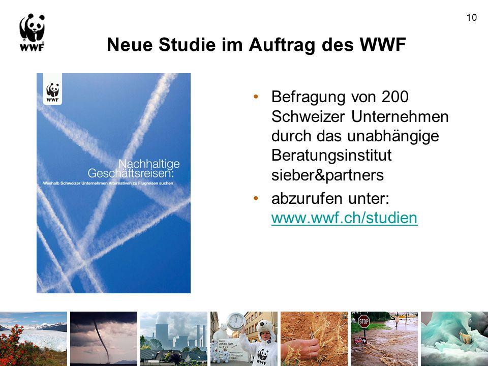 Neue Studie im Auftrag des WWF