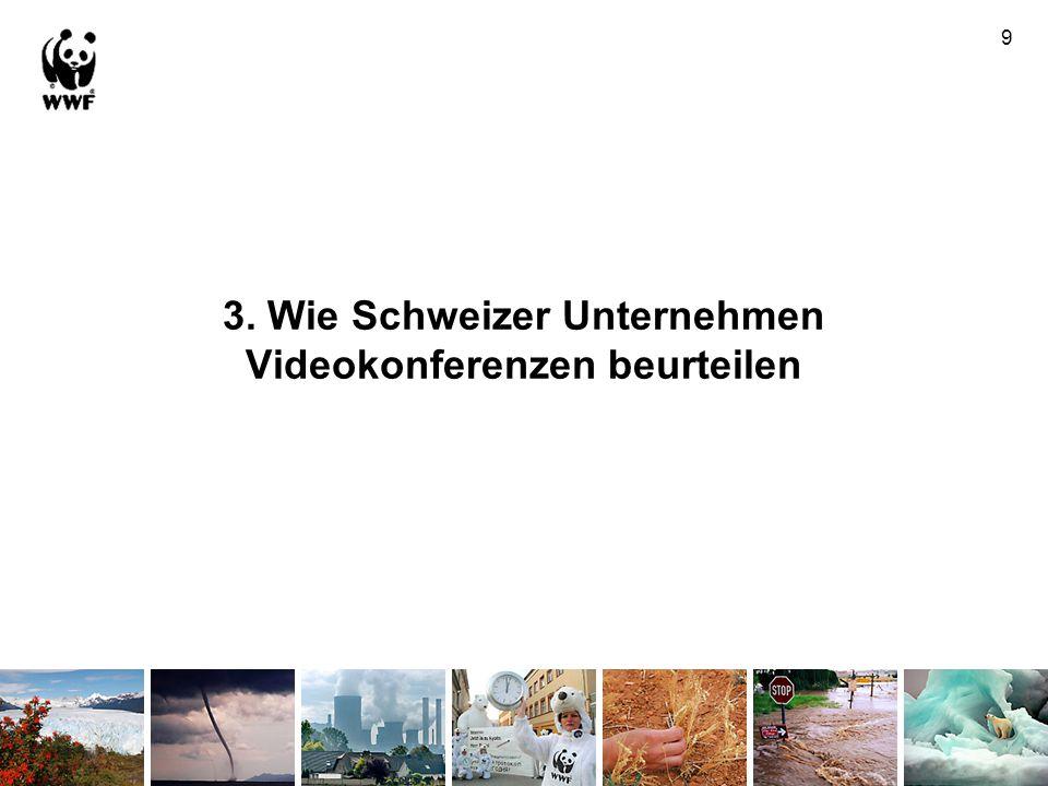 3. Wie Schweizer Unternehmen Videokonferenzen beurteilen