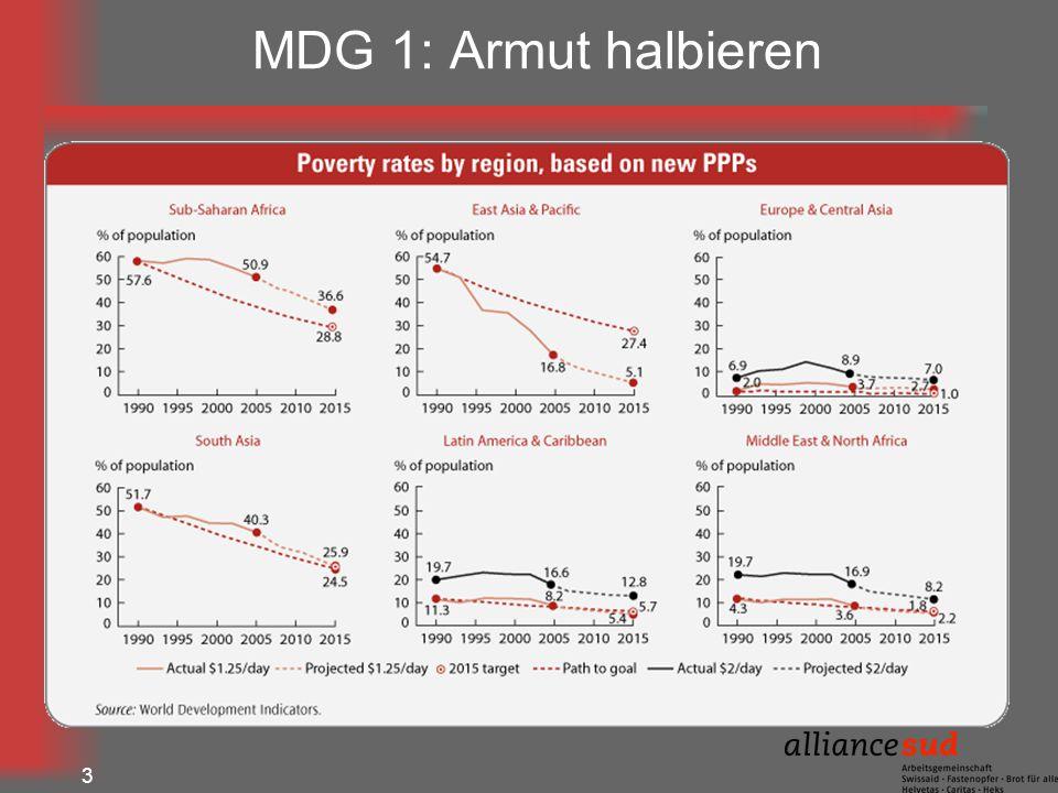 MDG 1: Armut halbieren 3