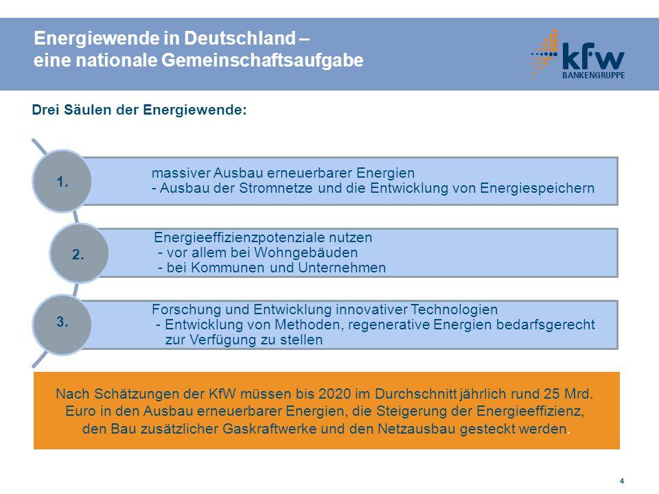 Energiewende in Deutschland – eine nationale Gemeinschaftsaufgabe