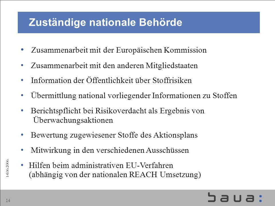Zuständige nationale Behörde