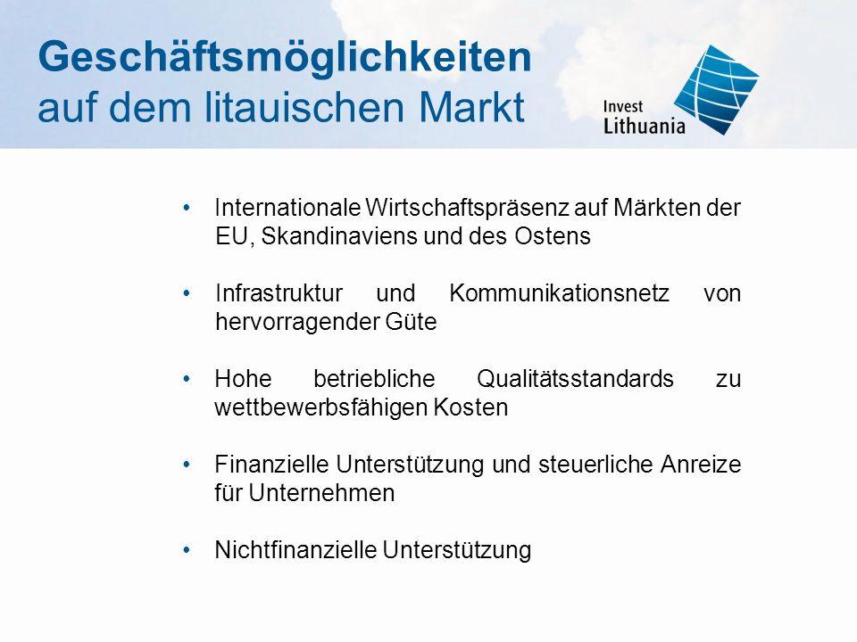 Geschäftsmöglichkeiten auf dem litauischen Markt