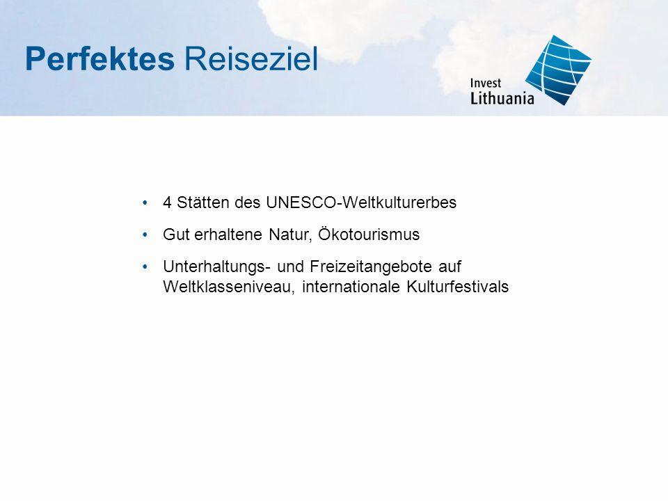 Perfektes Reiseziel 4 Stätten des UNESCO-Weltkulturerbes
