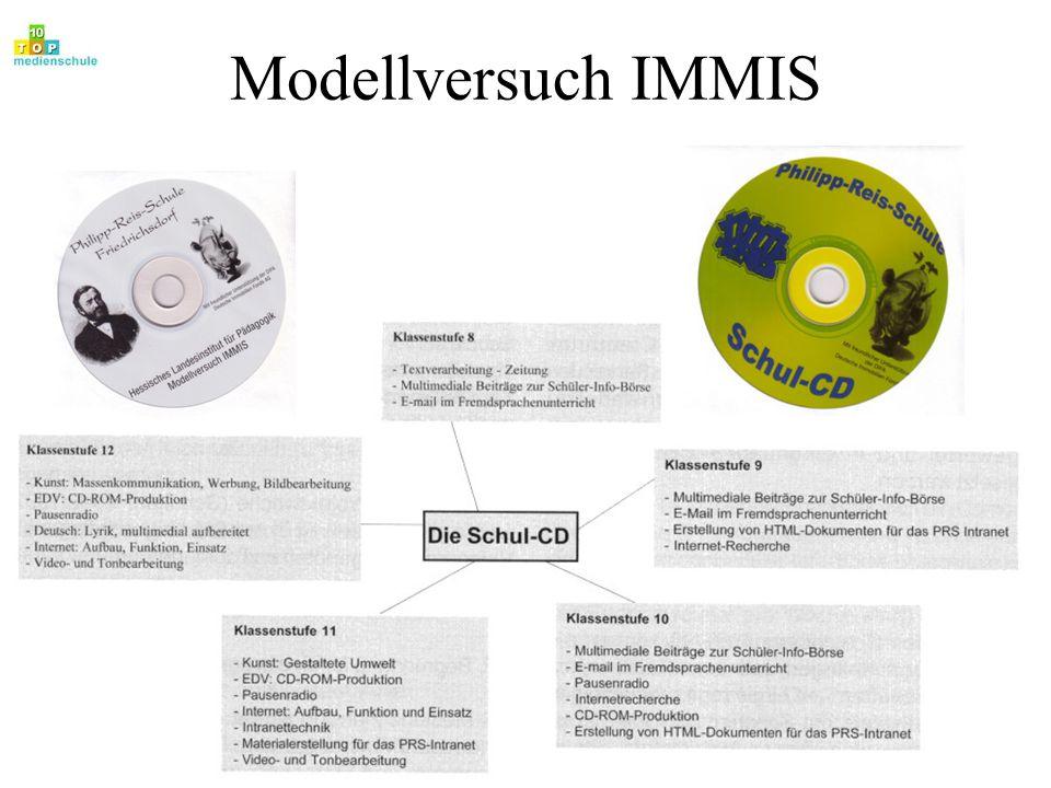 Modellversuch IMMIS