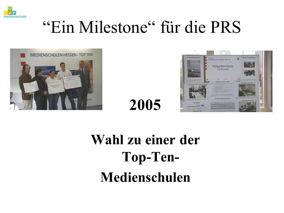Ein Milestone für die PRS