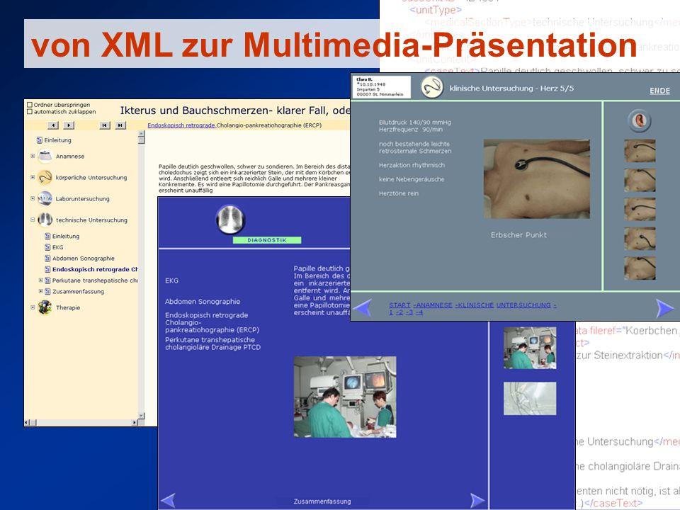 von XML zur Multimedia-Präsentation