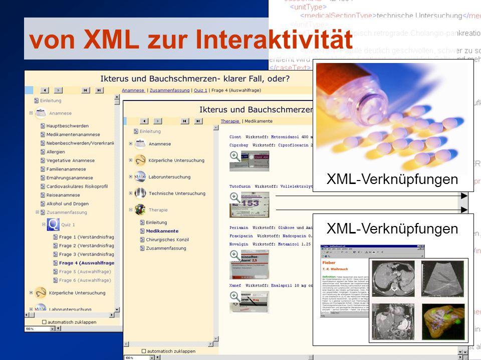 von XML zur Interaktivität