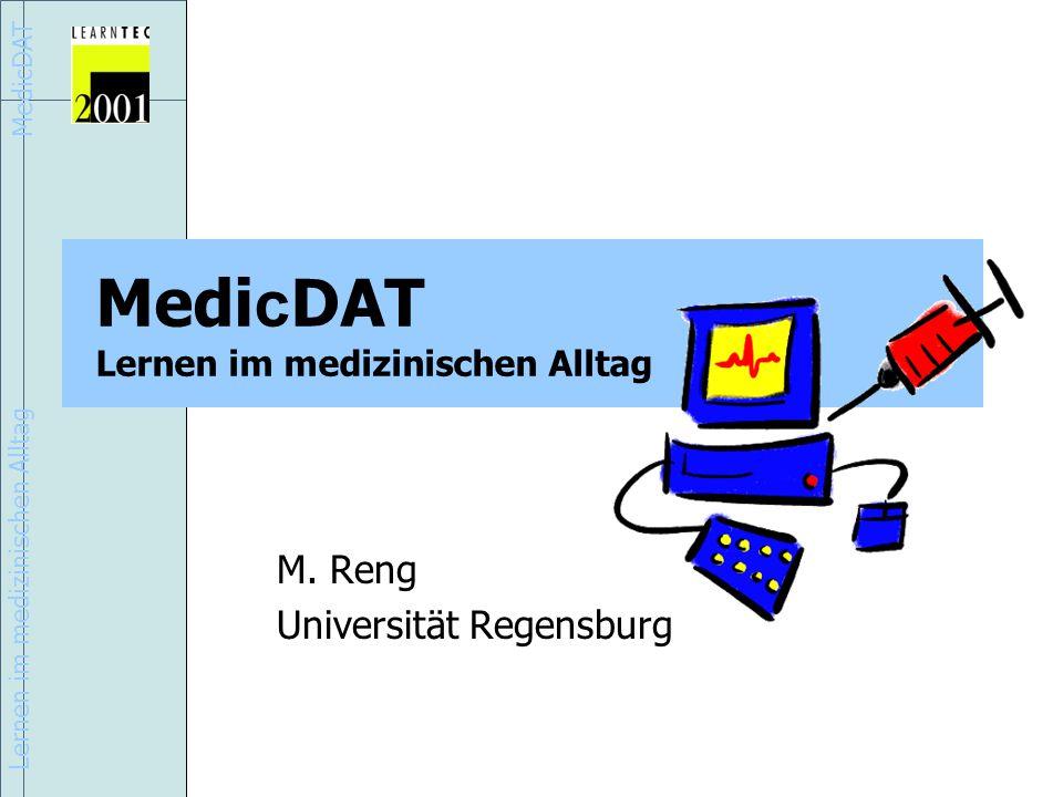 MedicDAT Lernen im medizinischen Alltag