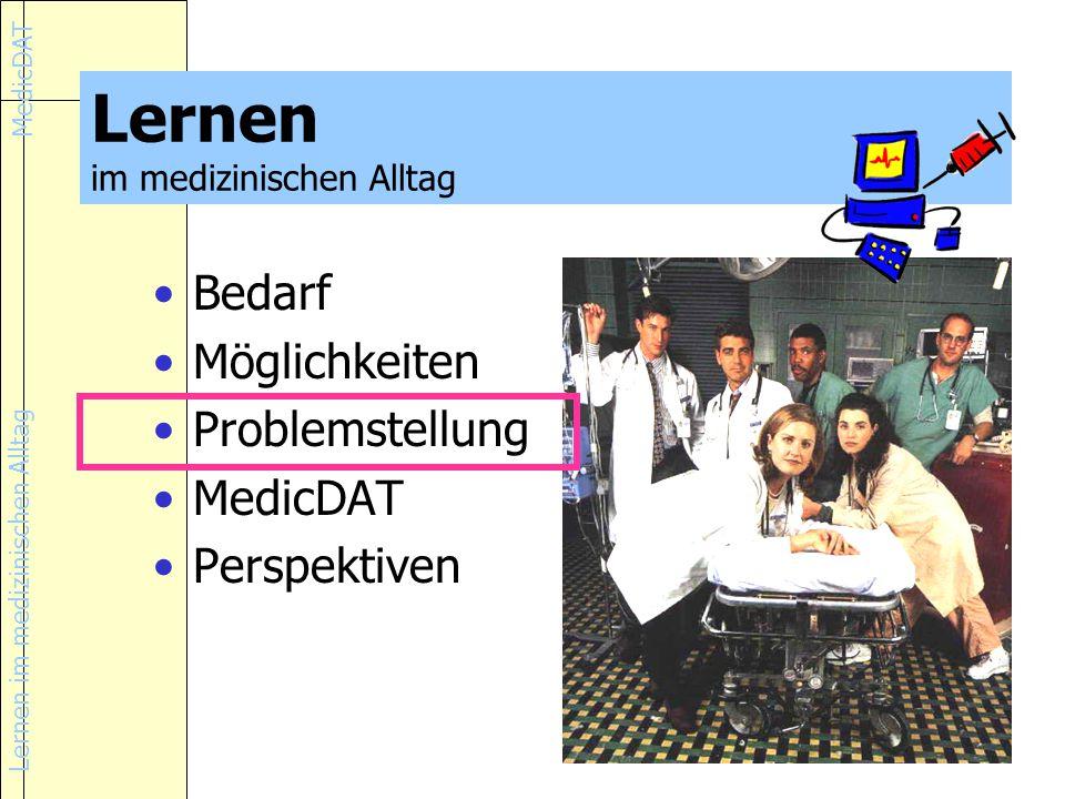 Lernen im medizinischen Alltag