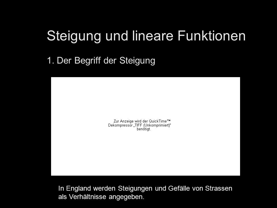 steigung und lineare funktionen ppt video online. Black Bedroom Furniture Sets. Home Design Ideas