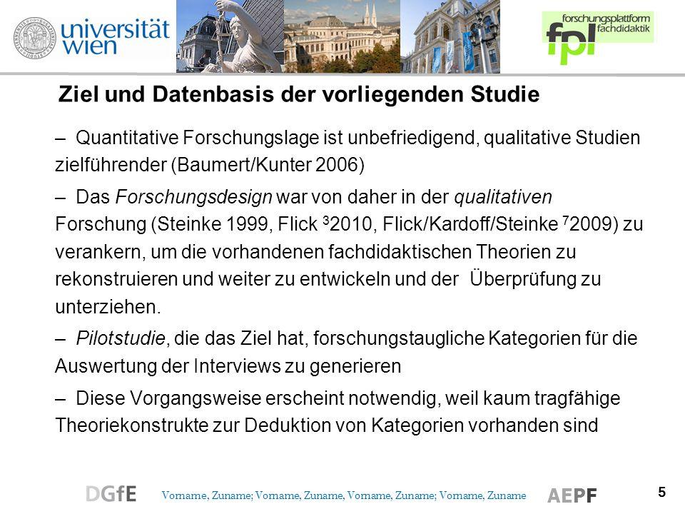Ziel und Datenbasis der vorliegenden Studie