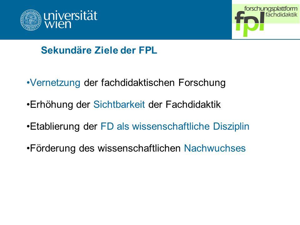 Sekundäre Ziele der FPL