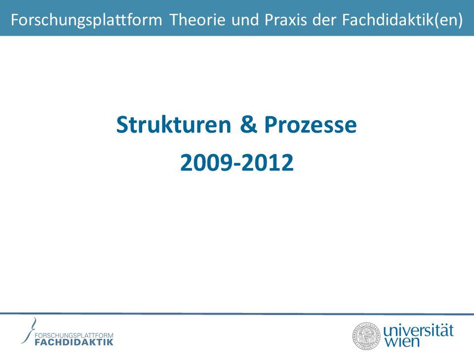 Strukturen & Prozesse 2009-2012