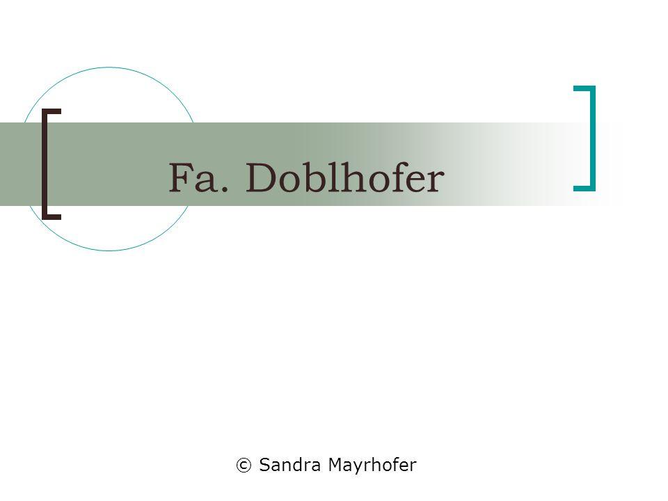 Fa. Doblhofer © Sandra Mayrhofer