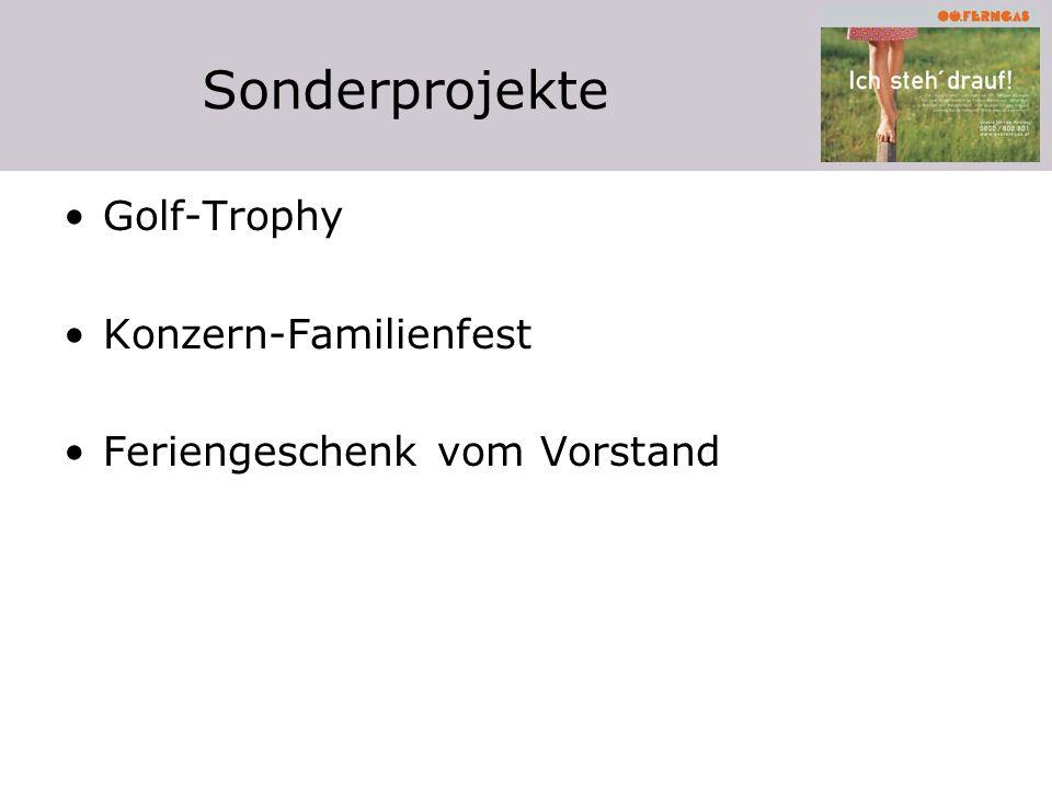 Sonderprojekte Golf-Trophy Konzern-Familienfest