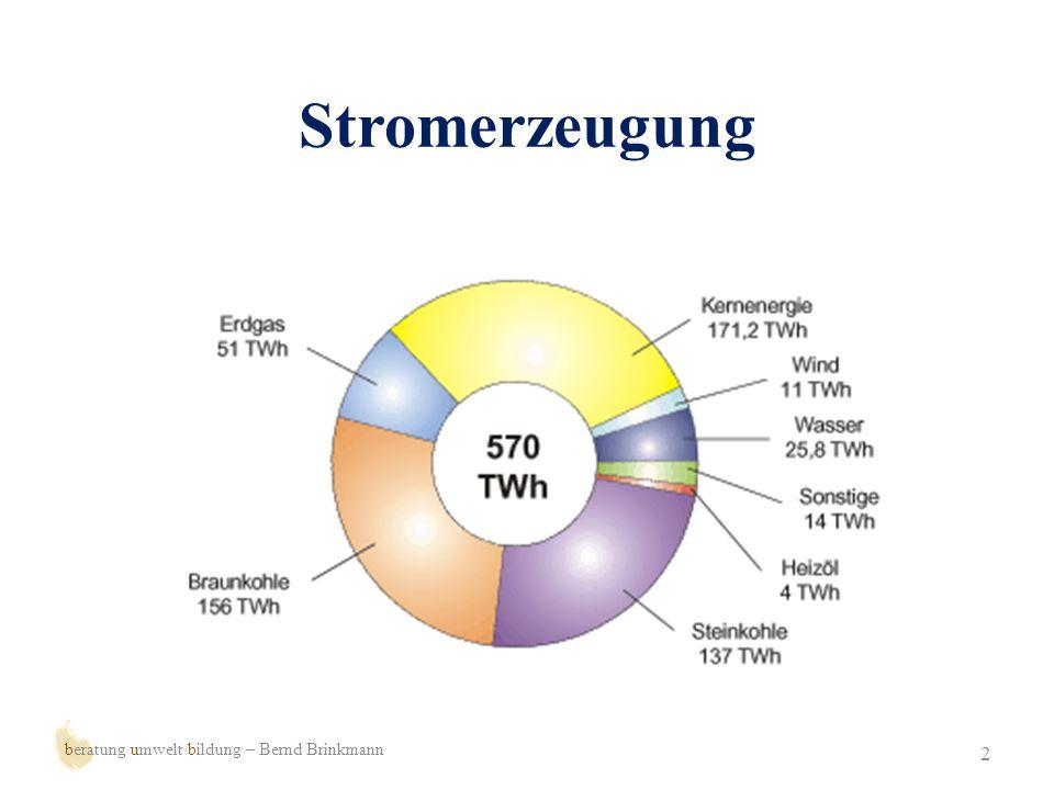 Stromerzeugung beratung umwelt bildung – Bernd Brinkmann
