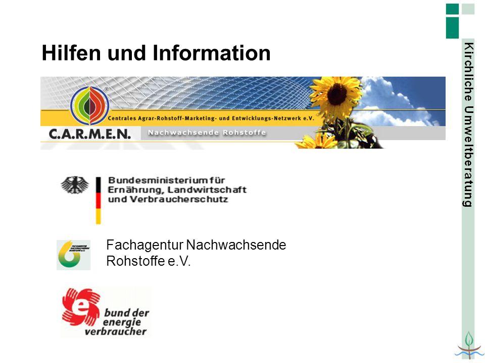 Hilfen und Information