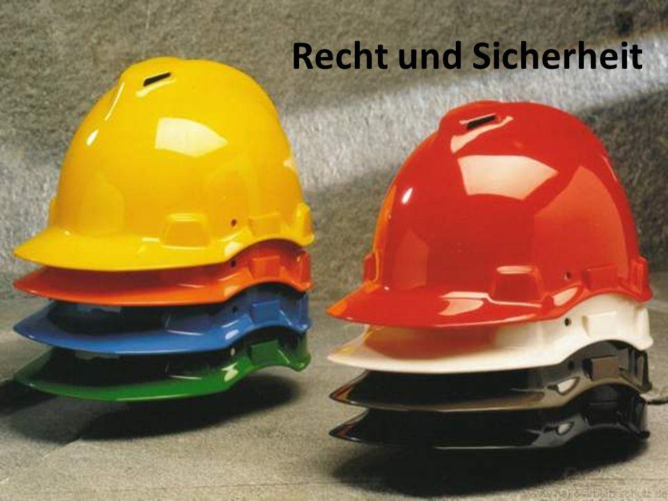 Recht und Sicherheit Kirchliche Umweltberatung/Bernd Brinkmann