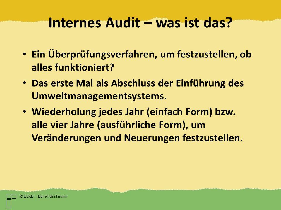 Internes Audit – was ist das