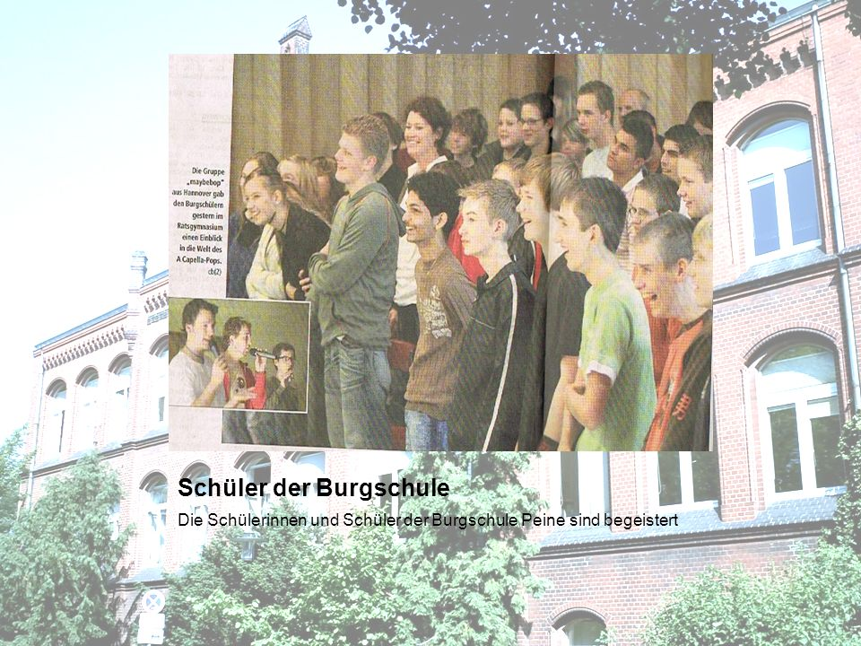 Schüler der Burgschule