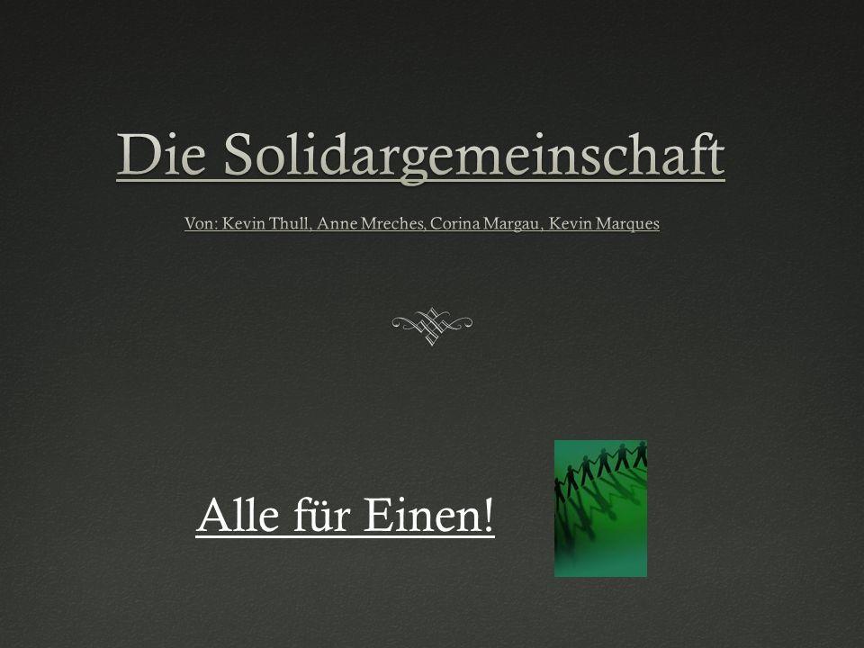 Die Solidargemeinschaft