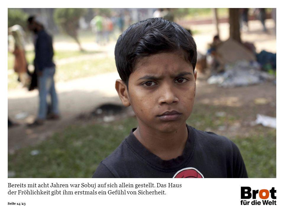 Bereits mit acht Jahren war Sobuj auf sich allein gestellt