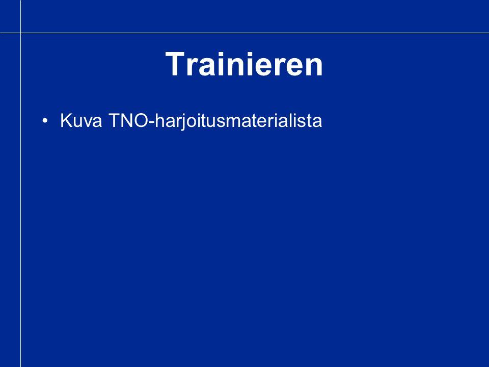 Trainieren Kuva TNO-harjoitusmaterialista