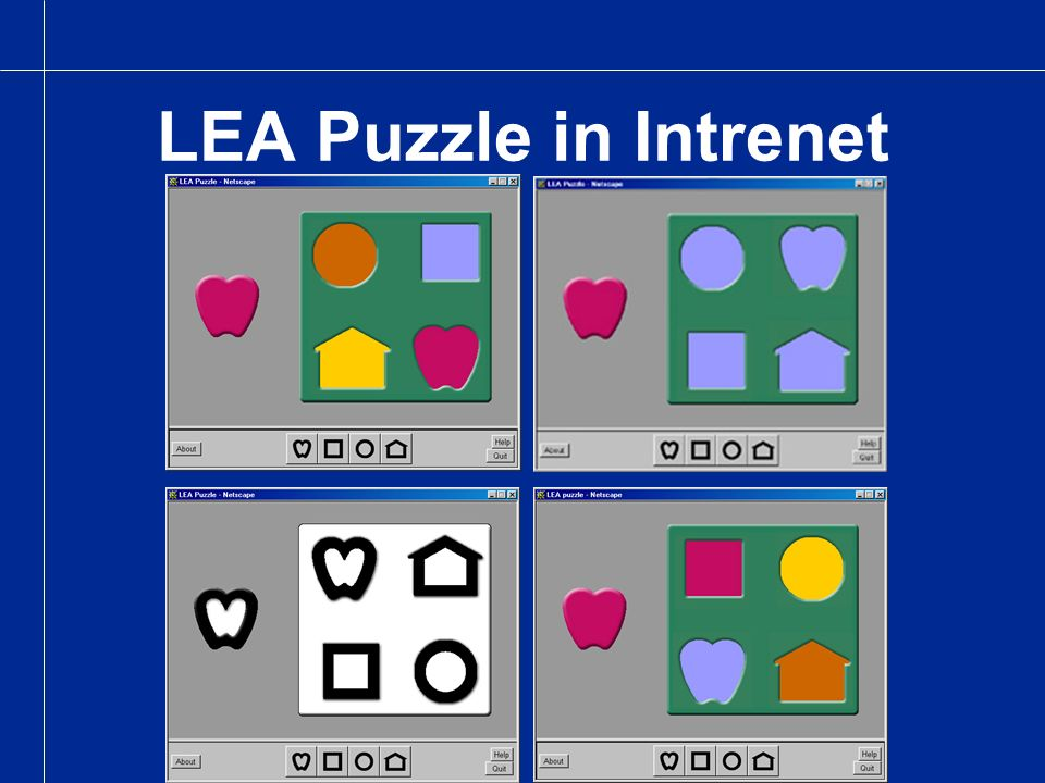 LEA Puzzle in Intrenet