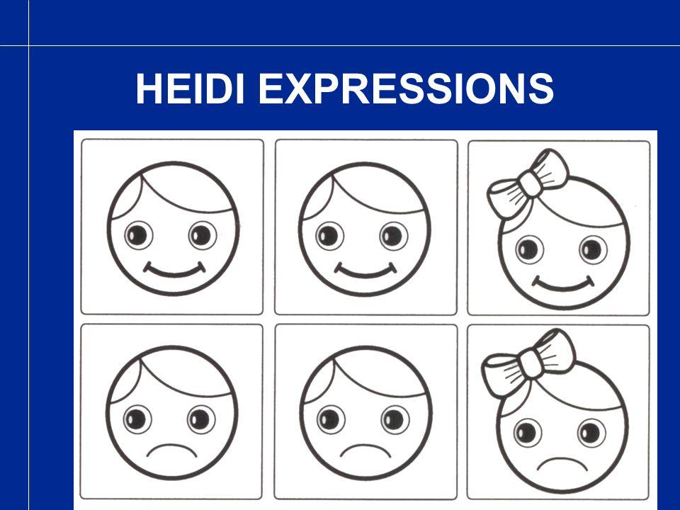 HEIDI EXPRESSIONS