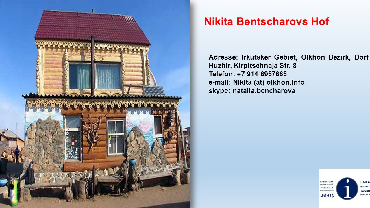 Nikita Bentscharovs Hof