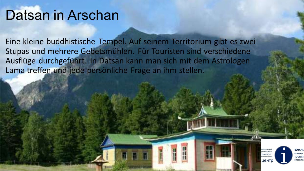 Datsan in Arschan
