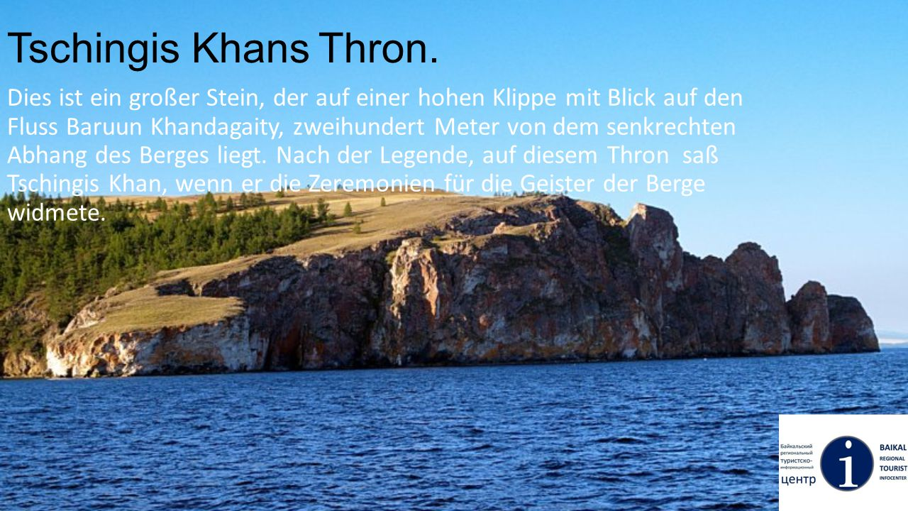 Tschingis Khans Thron.