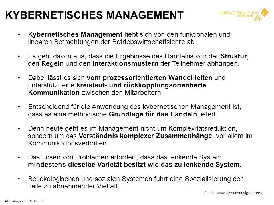 Kybernetisches Management