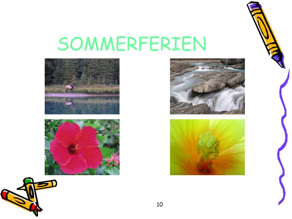 SOMMERFERIEN 10