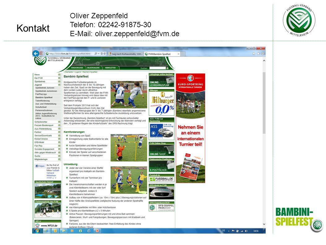 Kontakt Oliver Zeppenfeld Telefon: 02242-91875-30